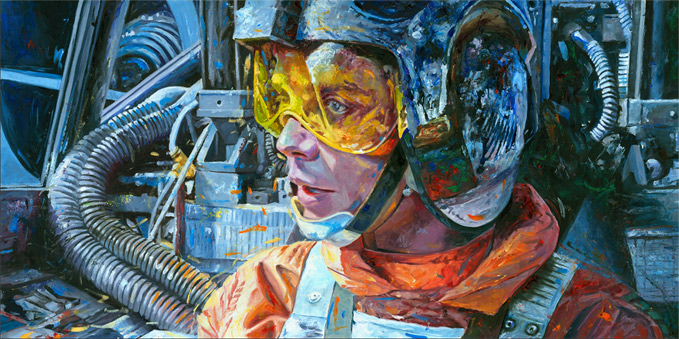 Skywalker Rebel Rebel Pilot Luke Skywalker