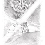Darth Maul and Anakin: Celebration I Concept w/ moon