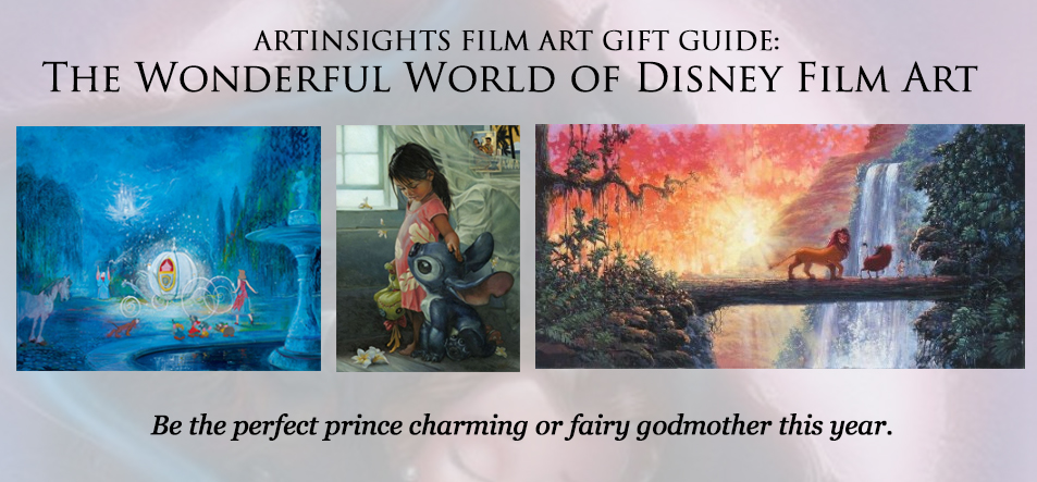 Holiday Disney Art Guide