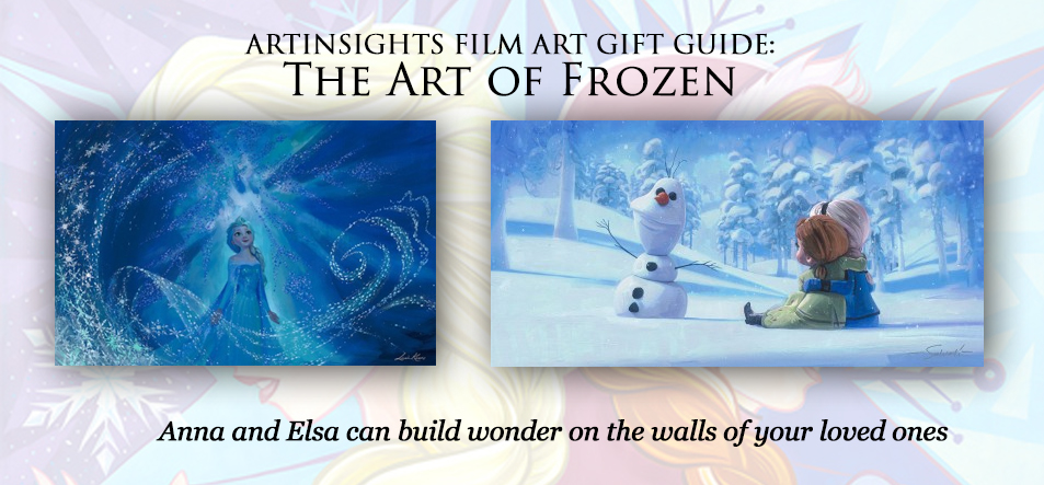 Frozen Film Art Holiday Gift Guide