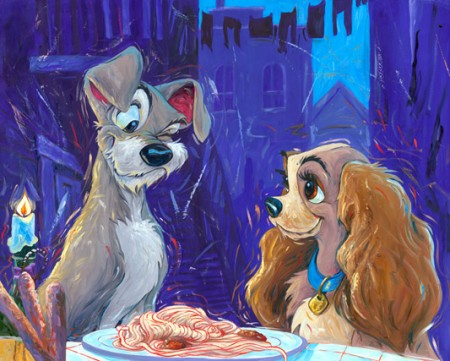 Lady and Tramp by William SIlvers