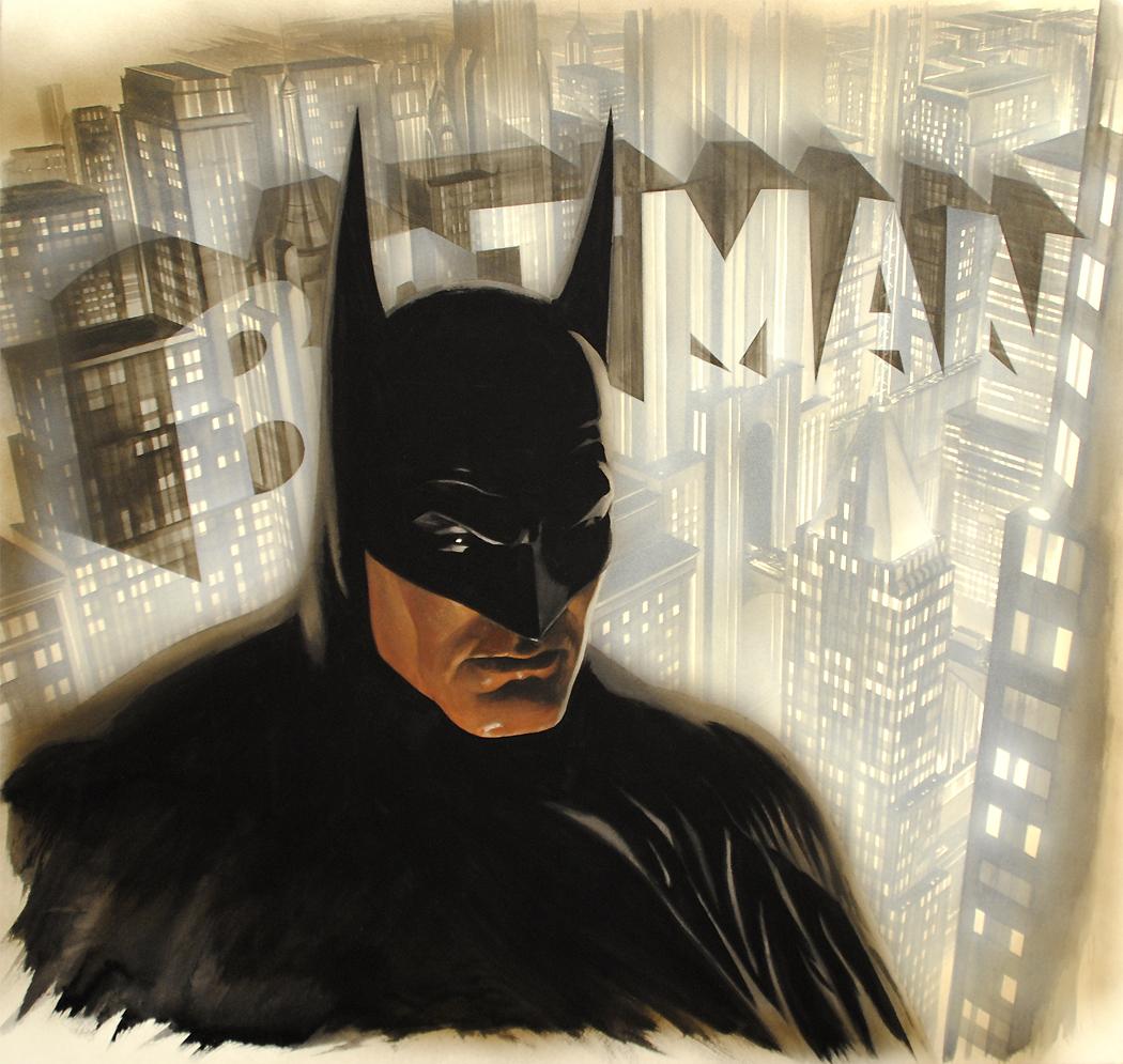 Alex Ross's new piece called Batman the Legend