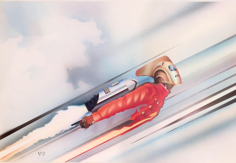 the rocketeer john rowe