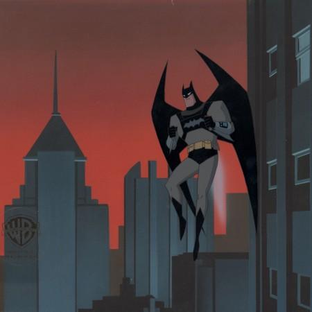 New Batman Adventures Original Production Cel You Scratch My Back