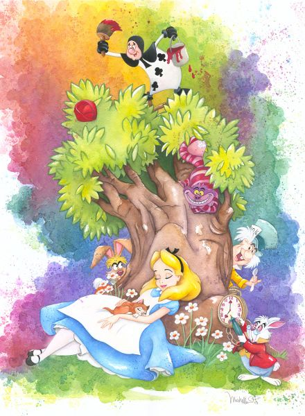 Dreaming Alive In Wonderland by Michelle St. Laurent
