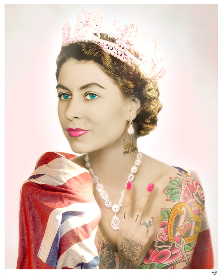Her-Majesty-Colour-Tattoo-II-JJ-Adams-Queen-II