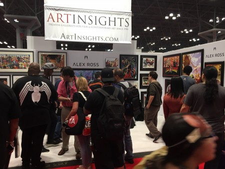 new-york-comicon-alex-ross-booth
