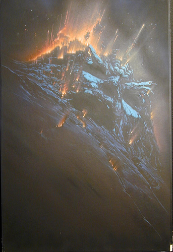John Alvin - Star Trek VI - Mountain Face Exploding