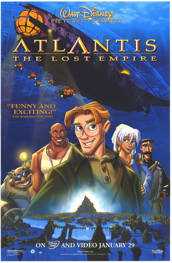 Atlantis: The Lost Empire - 2001