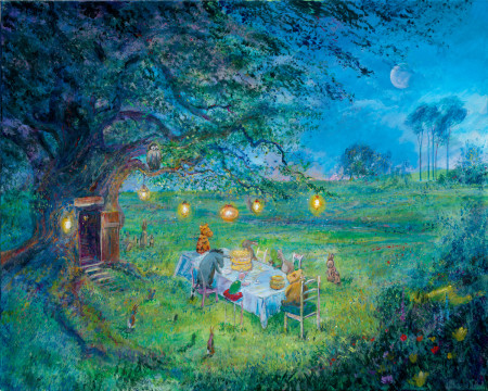 Pooh's Garden Party