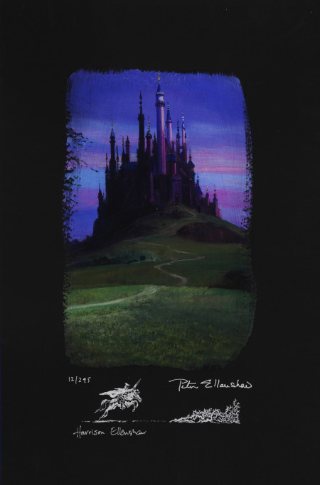 Sleeping Beauty Castle, Deluxe (Chiarograph)