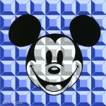 Disney - Mickey Mouse - 8-Bit Block Mickey Blue