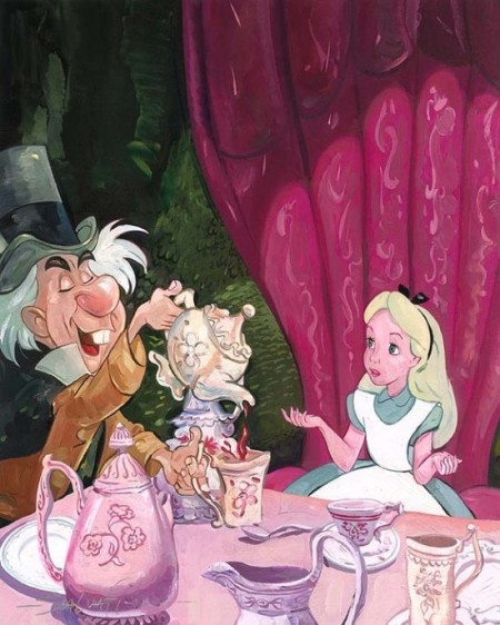 Disney - Alice in Wonderland - Alice - Mad Hatter - A Very Important Date