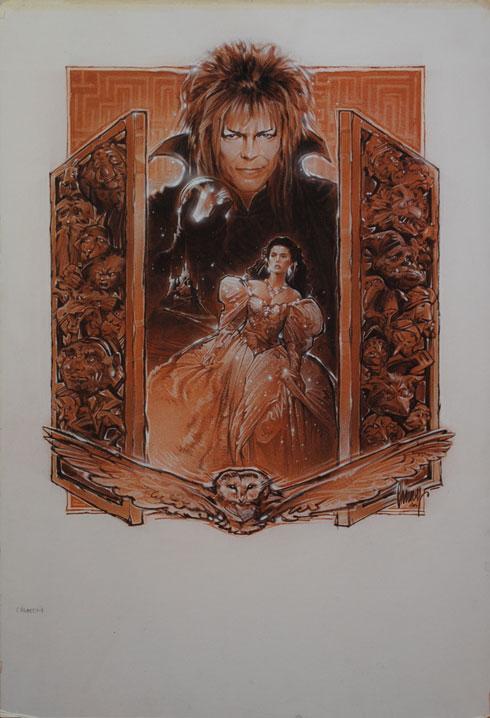 Labyrinth Movie Poster Comp