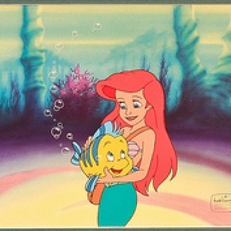 Disney TV's The Little Mermaid-Ariel & Flounder