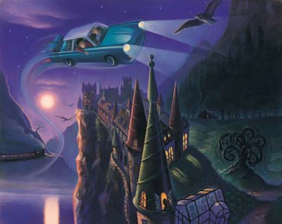Harry Potter: The Enchanted Car