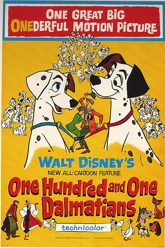 One Hundred and One Dalmatians - 1961