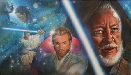 Star Wars: Obi-Wan - original production color concept art
