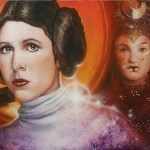 Star Wars: Mother & Daughter - original production color concept art