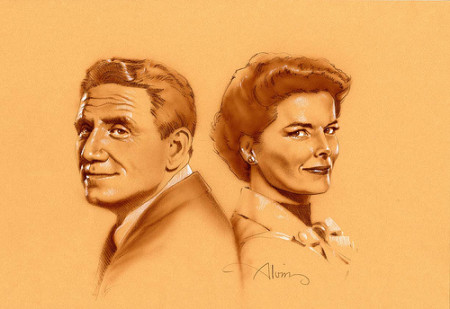 Tracy & Hepburn - original production concept art