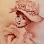 Audrey Hepburn - My Fair Lady - original production concept art