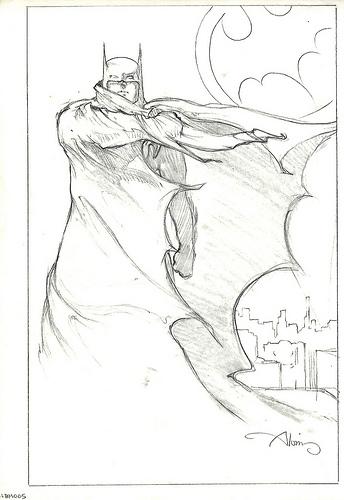 Batman Returns - original production concept art 2