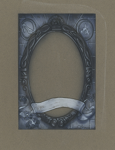 Enchanted The Magic Mirror - original production concept art