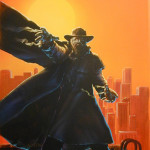 Darkman Sunset - original production color concept art