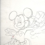 Disney Books Mickey Mouse - original production concept art
