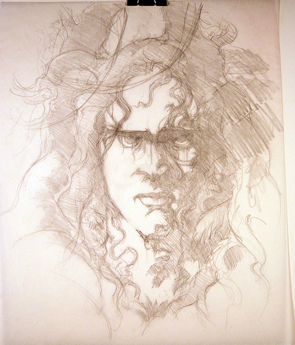 Tarzan Portrait - original production concept art