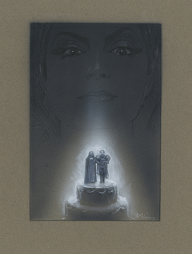 The Enchanted Couple - original production concept art