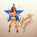 Calamity Jane Virtual World Nose - original production color concept art