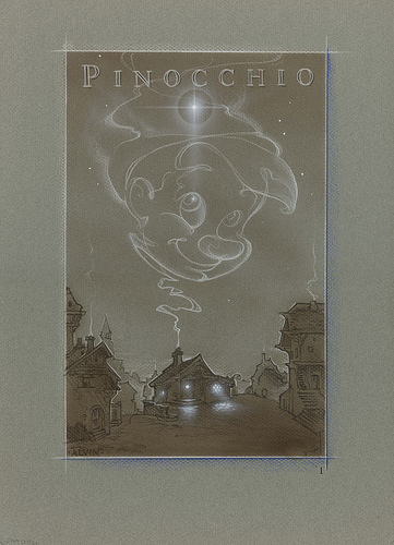 Pinocchio: In the Sky - original production concept art