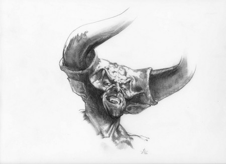Legend: The Dark Lord - original production concept art