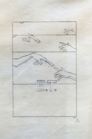 E.T. Small Hands 6 - original production concept art