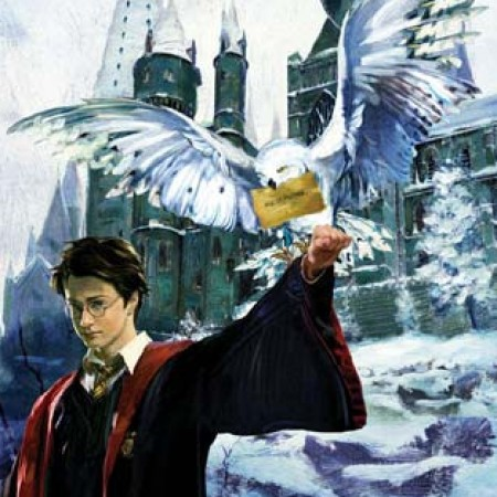 Harry and Hedwig by Jim Salvati