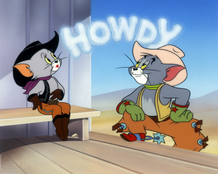 tom and jerry howdy