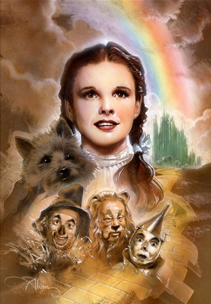 Wizard of Oz by John Alvin