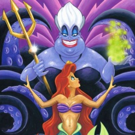 The-Whisper-Ursula-Ariel-The-Little-Mermaid-Disney-ArtInsights