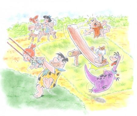 prehistoric playground