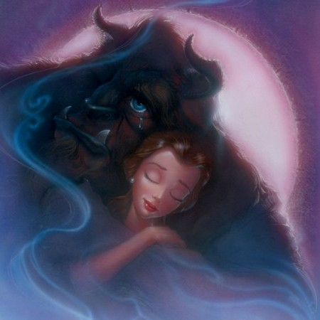 Bittersweet-Embrace-beauty-and-the-beast-art-john-alvin-movie-art-artinsights
