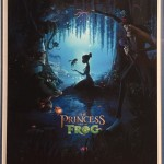 signed princess and the frog