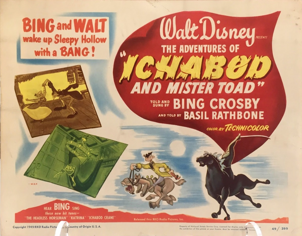 The title lobby card from Ichabod and Mr. Toad in the gallery
