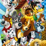 Disney Dogs by Tim Rogerson
