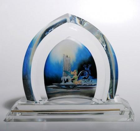 fine-art-glass-Tinker-bell-mischievous-jim-salvati-Disney