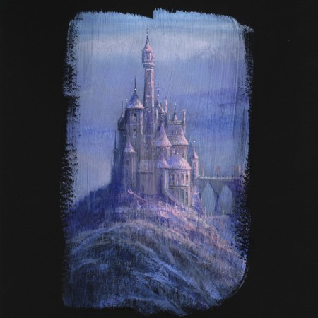 Beauty & The Beast Castle Deluxe 18x12