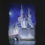 Cinderella Castle Deluxe 18x12
