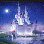 Cinderella's Grand Arrival 20x28