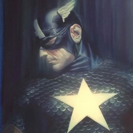 Shadows Captain America Alex Ross