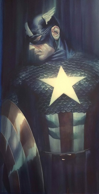 Shadows Captain America Alex Ross